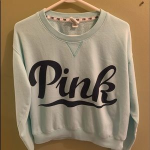Victoria's Secret PINK crew neck sweatshirt sz M